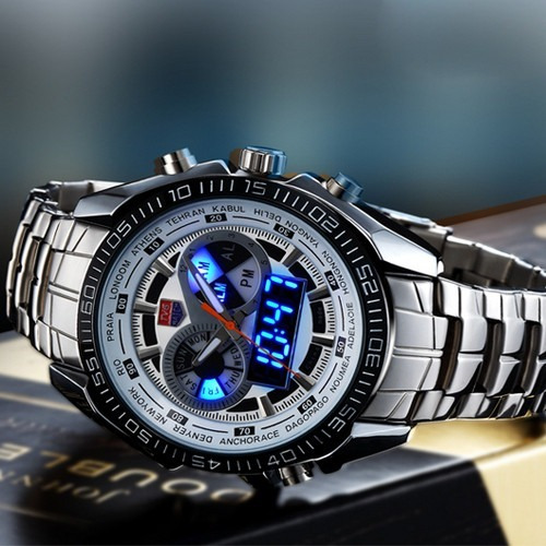 Relógio Masculino Esportivo Tvg Led Original Pronta Entrega