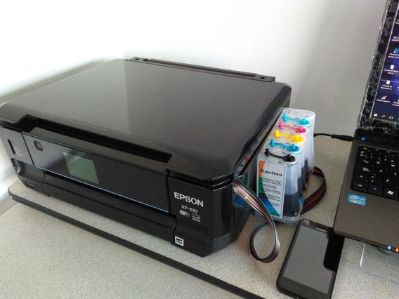 Impresora Epson Xp610 Multifuncional Para Reparar O Repuesto