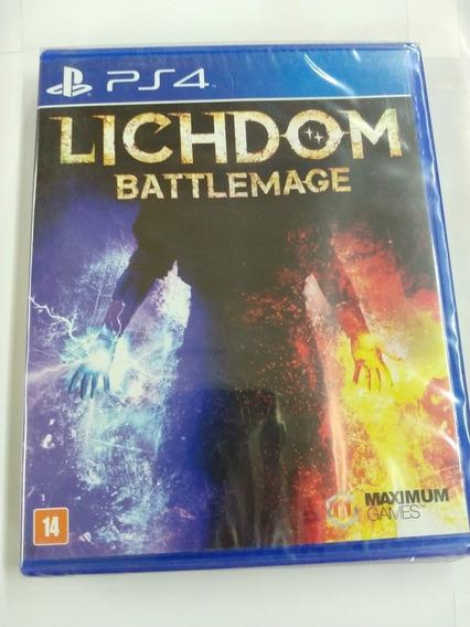 Lichdom Battlemage Midia Fisica Ps4 Lacrado