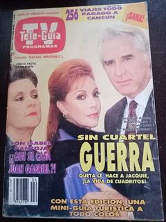 Rogelio Guerra Y Jacqueline Andere En Revista Tele-guia