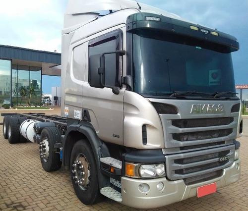 Scania P 310 - 2014 - 8x2 - Automático - Teto Alto