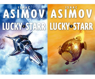Pack Lucky Starr 1 Y 2 - Isaac Asimov