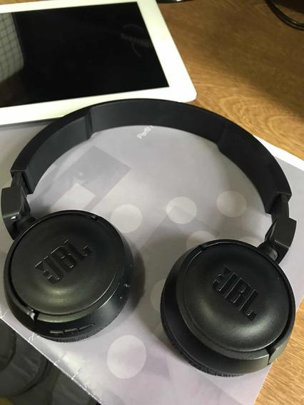 Fone De Ouvido Sem Fio Jbl T450bt Bluetooth - Original