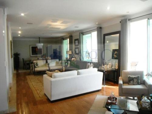 Imagem 1 de 15 de Apartamento No Campo Belo Com 279m², 4 Suítes E 7 Vagas. - Em26667