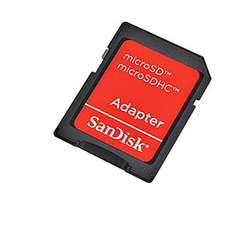 Adaptador Cartão De Memória Sd - Micro Sd Sandisk Original