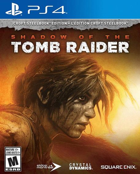 Shadow Of The Tomb Raider Croft Steelbook Ps4 (en D3 Gamers)