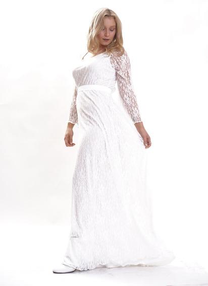 Vestido De Fiesta Y Casamiento Largo En 4 Talles Axioma