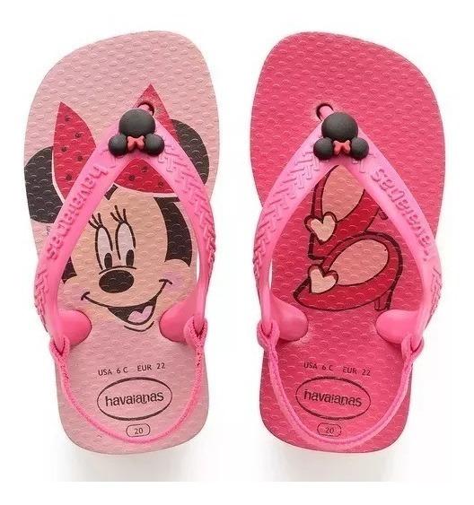 Sandália Havaianas New Baby Disney Classics - Minnie (25/26)