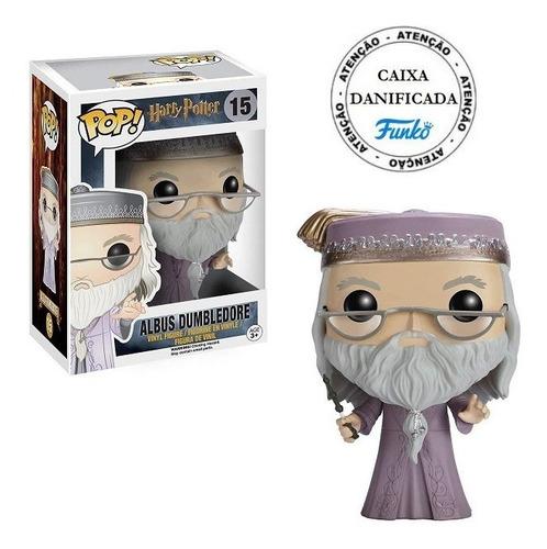 Boneco Pop Funko Harry Potter Albus Dumbledore Wand #15