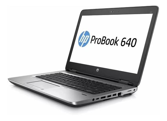 Notebook Hp Probook 640 G1 I5 4ª 4gb Ssd 120gb Wifi