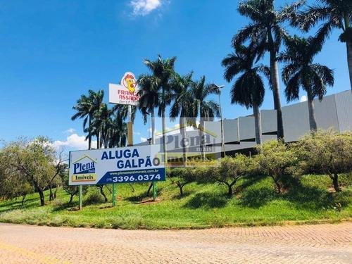 Galpão Para Alugar, 4.200 M² Por R$ 20,00  M² - Parque Silva Azevedo (nova Veneza) - Sumaré/sp - Ga0065