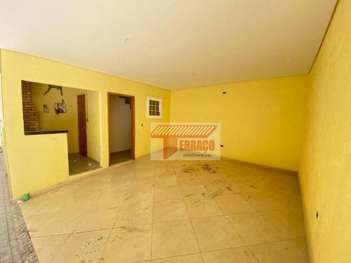 Imagem 1 de 9 de Sobrado Com 2 Dormitórios À Venda, 80 M² Por R$ 273.000 - Vila Príncipe De Gales - Santo André/sp - So1117