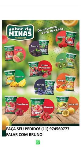 Frutas Congeladas Para Sucos, Drinks,ou Recheio Para Bolo