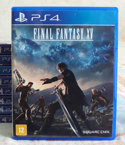 Final Fantasy Xv 15 Ps4 - Jogo Mídia Física Em Português