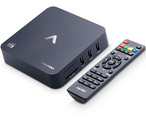 Conversor Smart Box Aquário Android Stv-2000 Hdmi Av
