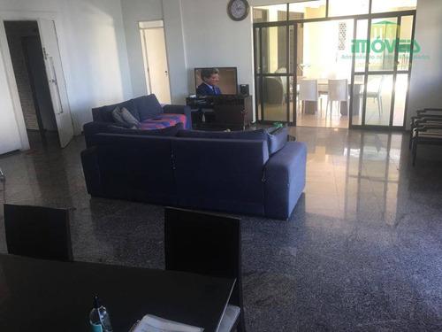 Imagem 1 de 30 de Cobertura Com 3 Dormitórios À Venda, 353 M² Por R$ 1.400.000,00 - Meireles - Fortaleza/ce - Co0007