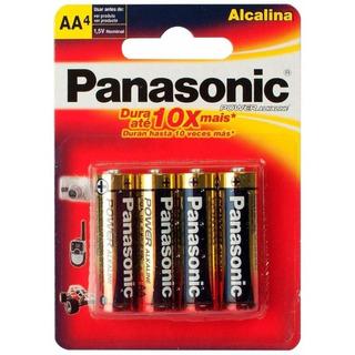 Pilas Alcalina Aa X 4 Panasonic - Aj Hogar