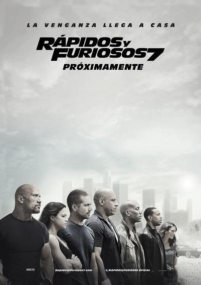 Poster: Rápidos Y Furiosos 7