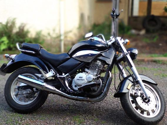 Moto Custom/estradeira - Amazonas 250 Preta 2009