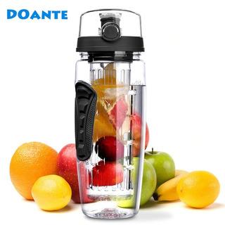 Botella De Agua Libre Fruta Infusor Jugo Shaker