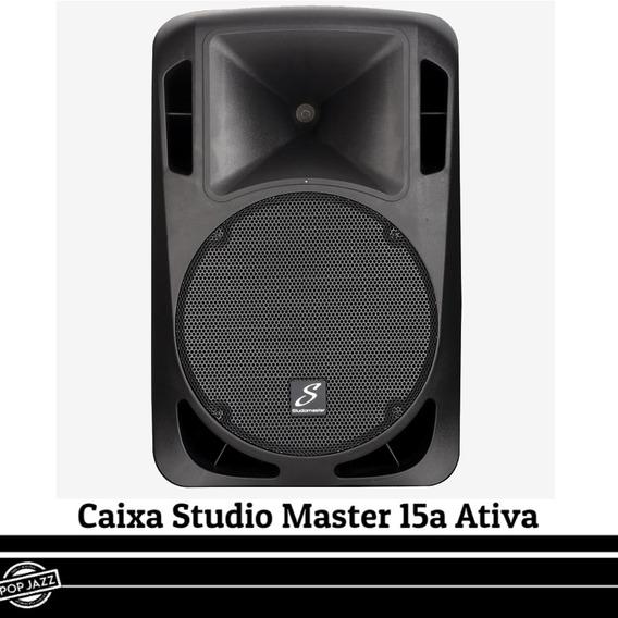 Caixa Studio Master Ativa Drive 15a (amplificada)