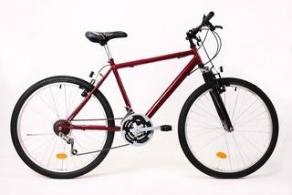 Bicicleta Mountain Bike Suspension Delantera 21 V Rodado 26