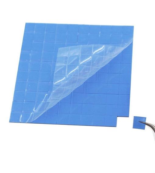 Thermal Pad Térmico Azul 10cmx 5cmx 2mm C/50 Unidades
