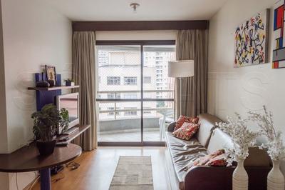 Paulista Lifestyle Flat Na Bela Vista Mobiliado 62m² - Sf26878