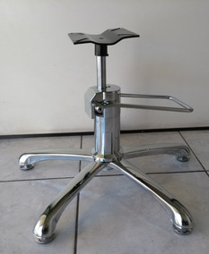 Base Hidráulica P/ Cadeira De Cabeleireiro Completa