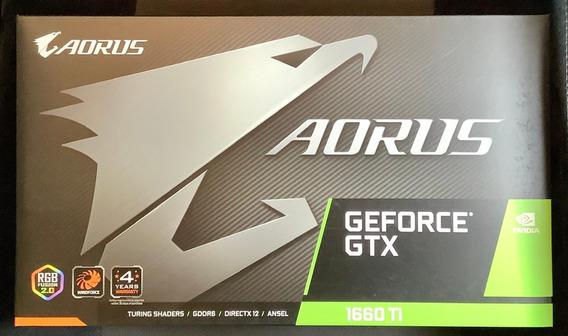 Aorus - Gtx 1660 Ti - 6gb - Gddr6
