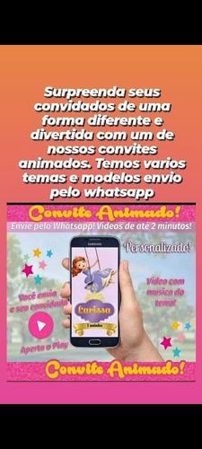 Imagem 1 de 3 de Convite Animado