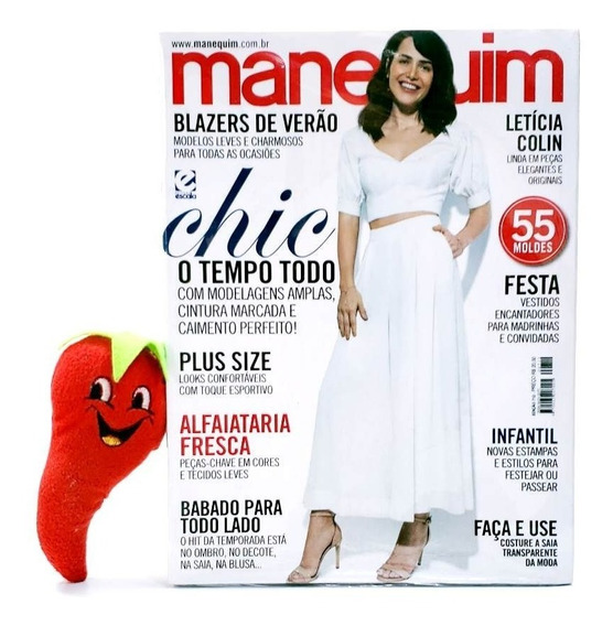 Revista Manequim Chic O Tempo Todo Nº 712 (loja Do Zé)