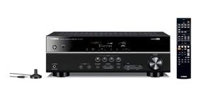 Receiver Yamaha Rx V377bl Bivolt 100w Preto Usb Extra Bass