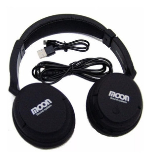 Auricular Bluetooth Moon Microfono P/ Llamadas Usb Plug Cjf
