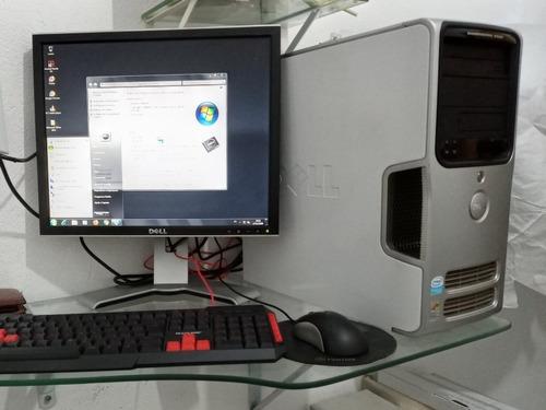 Computado Dell +monitor 19polegad 3ghz 3,5gb De Ram Completo