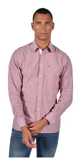 Camisa Regular Fit Tommy Hilfiger Rojo Mw0mw11016904 Hombre
