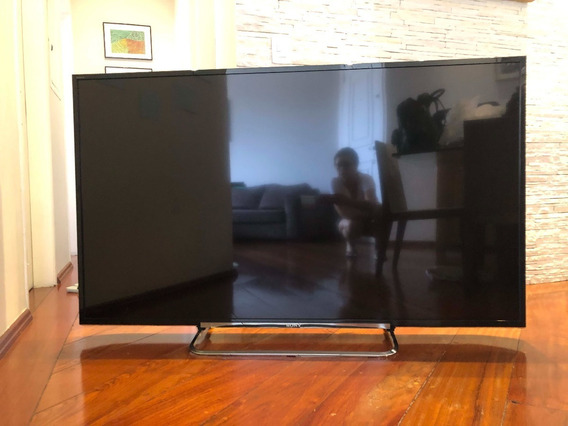 Tv Sony 70 Kdl 70r555a Com Placa Led Queimada