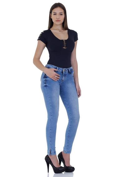 Calça Jeans Zigma Realça Bumbum Azul