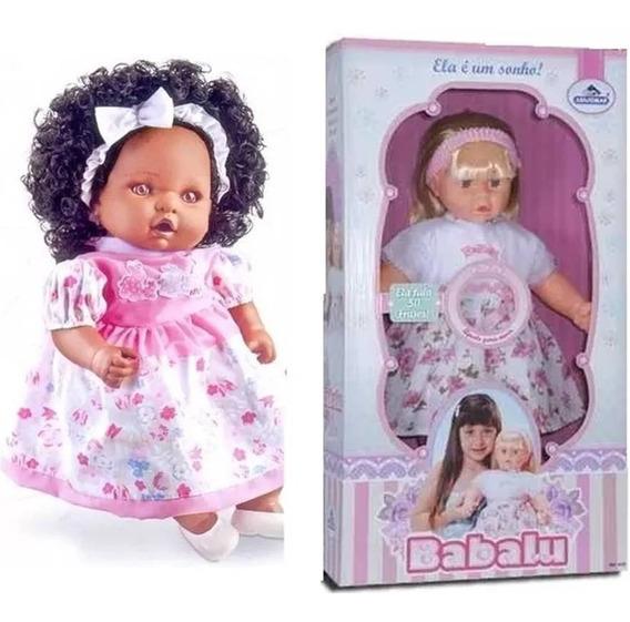 2 Bonecas : 1 Babalú + 1 Angelina Negra