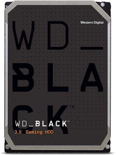 Wd Black 4tb Disco Duro Hdd Gamer Sata 6 Gb/s 3.5 In