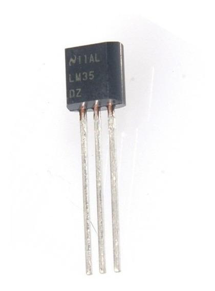 Sensor Analogico Temperatura Lm35 -55°c A 150°c Nubbeo