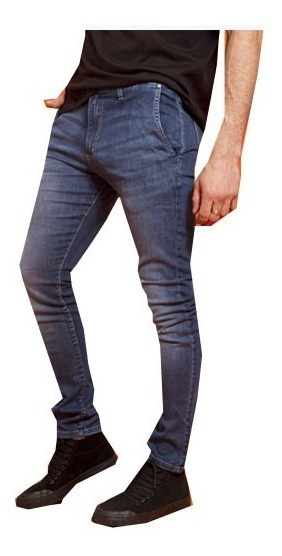 Pantalon De Jean Chino Con Cierre.seventy Varela