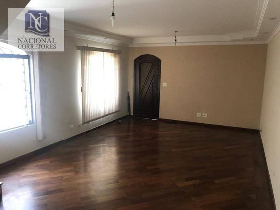 Sobrado Com 3 Dormitórios À Venda, 171 M² Por R$ 650.000,00 - Vila Camilópolis - Santo André/sp - So3372