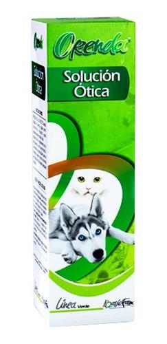 Solución Ótica Perros Y Gatos Orenda X 100 Ml Limpieza Total