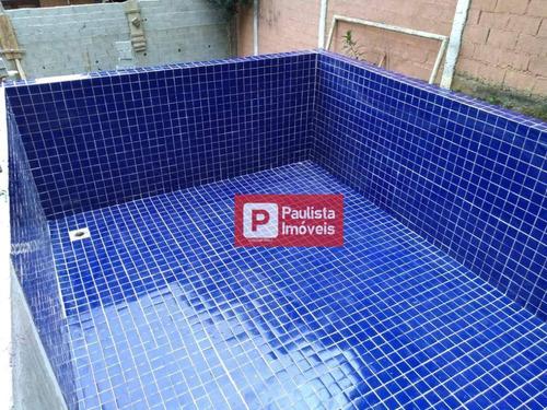 Casa Em Construção Com 3 Dormitórios Para Alugar, 150 M² Por R$ 4.000/mês - Praia Da Lagoa - São Paulo/sp - Ca2798