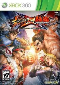 Street Fighter X Tekken - Xbox 360 Mídia Física