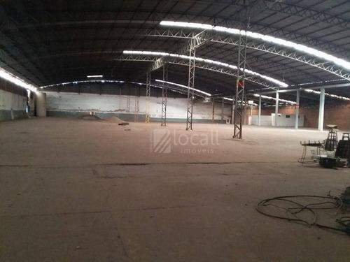 Imagem 1 de 14 de Barracão Para Alugar, 5000 M² Por R$ 25.000,00/mês - Loteamento Jardim Marilu - Mirassol/sp - Ba0188