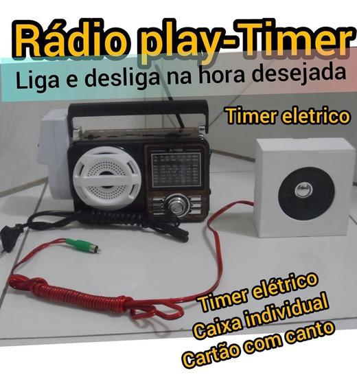 Radio Wav Player - Kit Aparelho Para Canto De Pássaros