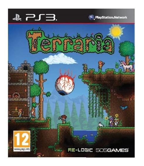 Terraria - Playstation 3 - Instale Já