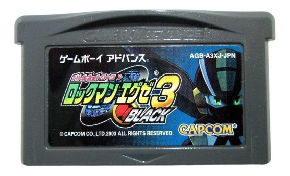 Mega Man Battle Network 3 Black Nintendo Game Boy Advance